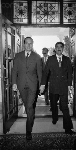 Saddam and Chirac Nuke days